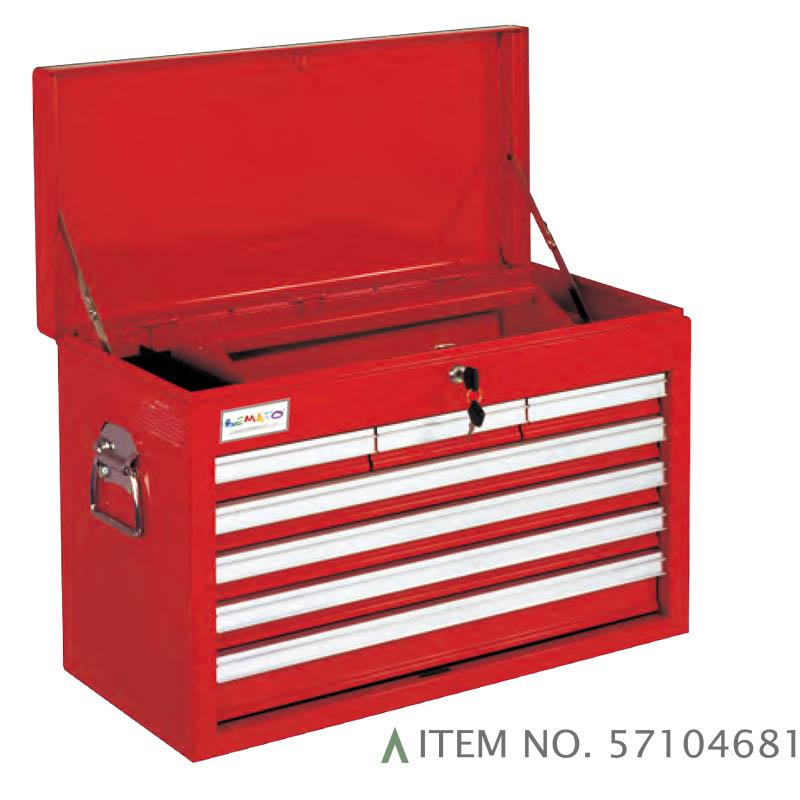 7-DRAWER B TYPE TOP CHEST BALL BEARING SLIDES