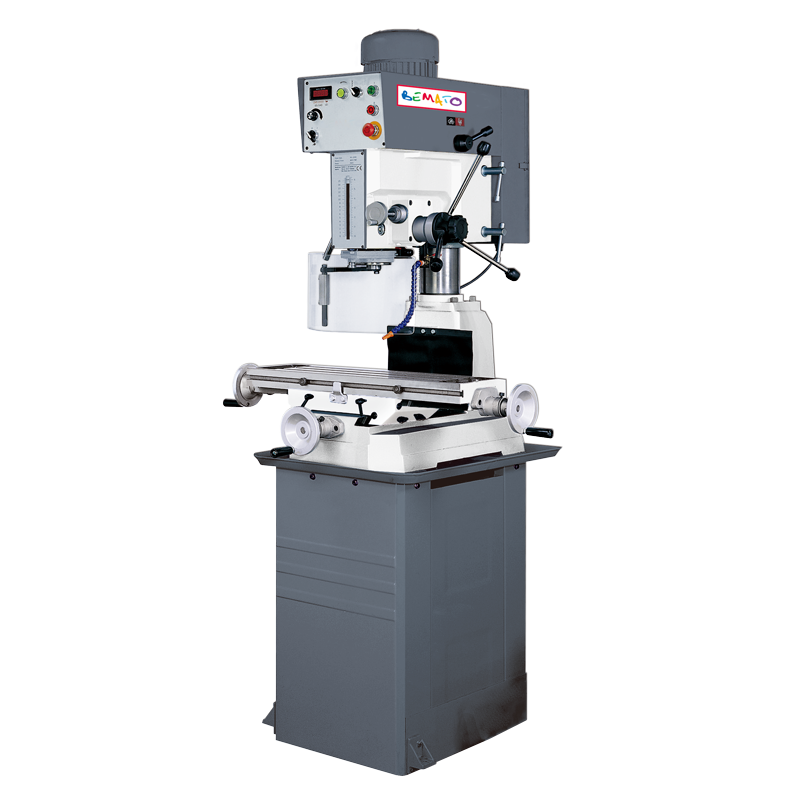 DRILLING & MILLING MACHINE (GEAR TYPE, VARIABLE SPEED)