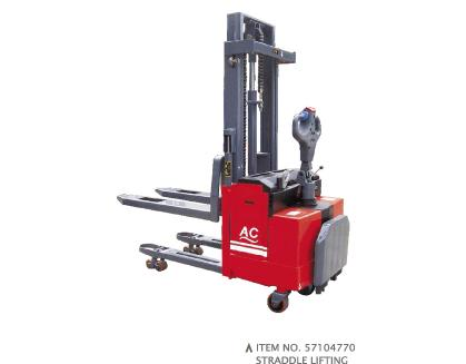 ADVANCED POWERED PALLET STACKERS(AC SYSTEM)