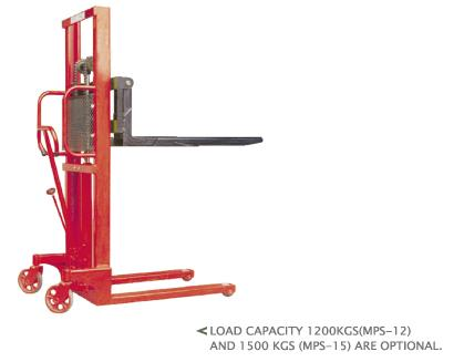MANUAL PALLET STACKERS(1 TON / 1.2 TONS/ 1.5 TONS)(MPS-10/12/15/10W/12W/15W)