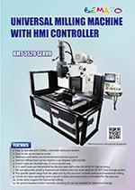 Universal Milling Machine with HMI controller - BMT 3520 SERVO