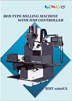 2015 TIMTOS Machine - Bed Type Milling Machine With HMI Controller - BMT 1260UL