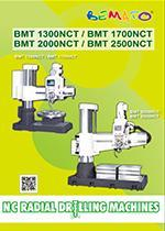 2017 NC Radial Drilling Machine