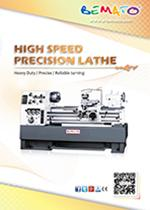 2019 TIMTOS HIGH SPEED LATHE